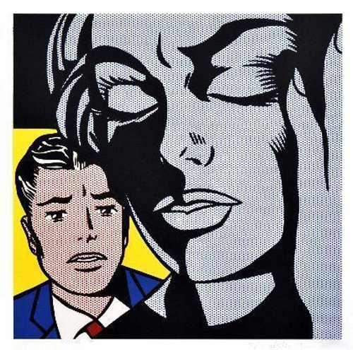 Roy Lichtenstein-Tension-1964