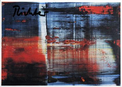 Gerhard Richter-Abstraktes Bild 858-3 (Abstract Painting 858-3) / Abstrakte Komposition-1999