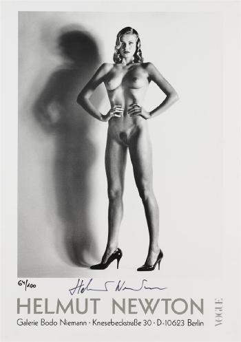 Helmut Newton-Helmut Newton Galerie Bodo Niemann-