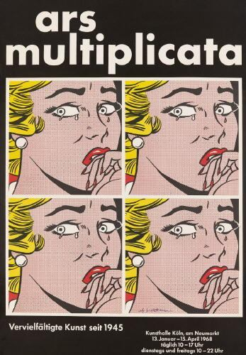 Roy Lichtenstein-Ars Multiplicata (Crying Girl)-1968