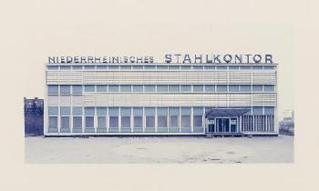 Thomas Ruff-Niederrheinisches Stahlkontor-1989