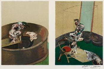 Francis Bacon-Aus: Derriere Le Miroir, Nr. 162-1966