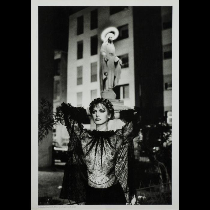 Helmut Newton-Fashion Karl Lagerfeld For Chloe (1977)-1989