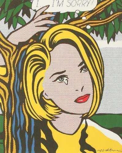 Roy Lichtenstein-Im sorry-