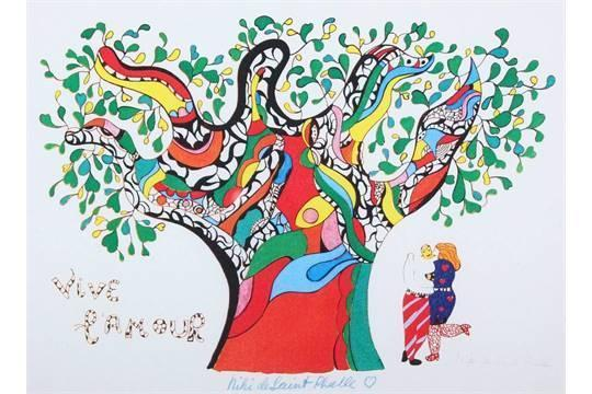 Niki de Saint Phalle-Vive l'amour-1990