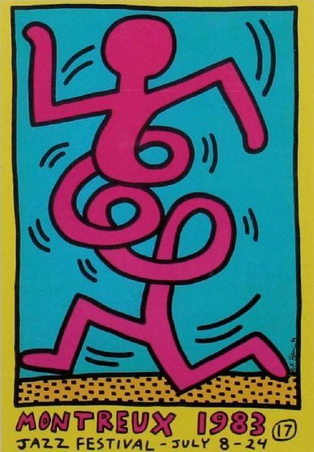 Keith Haring-Keith Haring - Montreux 1983-