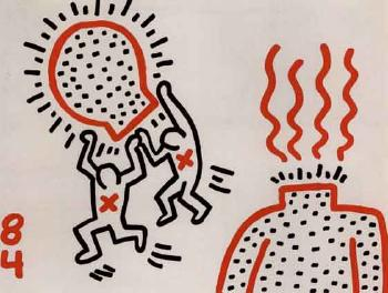 Keith Haring-Keith Haring - Untitled-1984