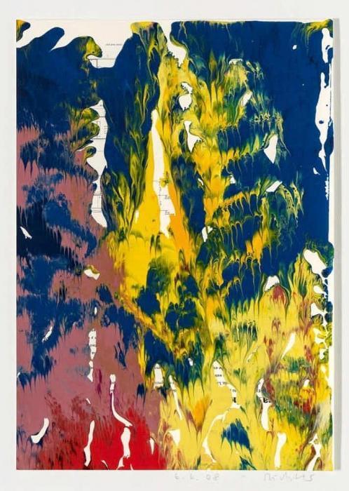 Gerhard Richter-Ohne Titel (6.6.08) / Untitled (6.6.08)-2008