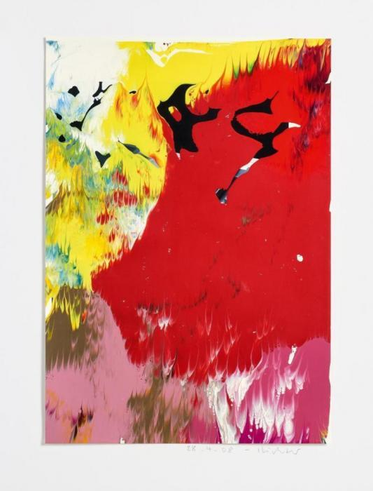 Gerhard Richter-Ohne Titel (28.4.08) / Untitled( 28.4.08)-2008