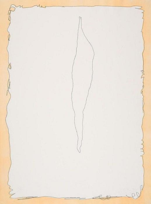 Lucio Fontana-Serie Rosa-1966