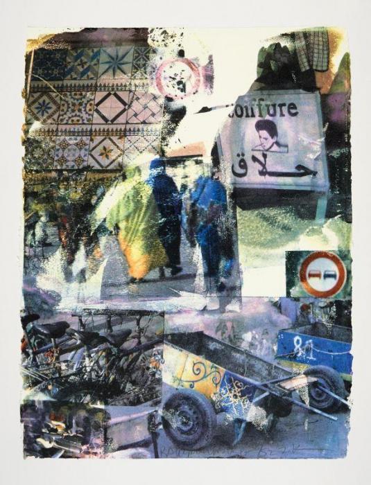 Robert Rauschenberg-Robert Rauschenberg - Slink (From Marrakitch Series)-2000