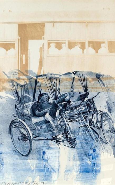 Robert Rauschenberg-Robert Rauschenberg - Dream Cycle (Ground Rules)-1997