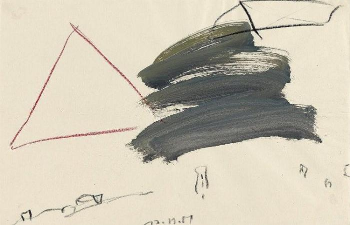 Cy Twombly-Ohne Titel-1981
