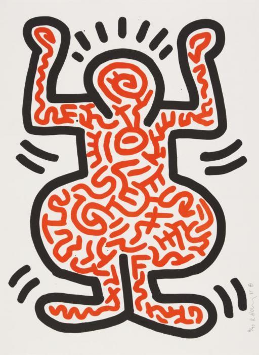 Keith Haring-Keith Haring - Ludo 1-1985