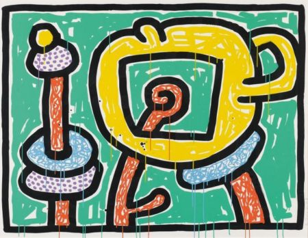 Keith Haring-Keith Haring - Flowers #3-1990