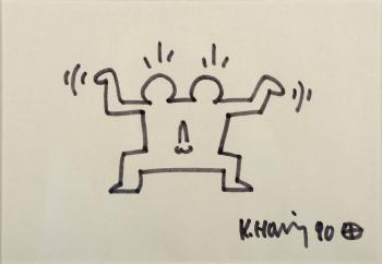 Keith Haring-Keith Haring - Double-1990