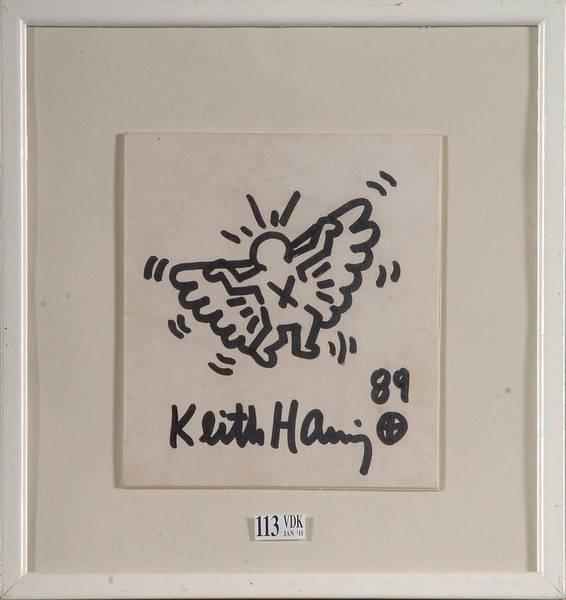 Keith Haring-Keith Haring - L'homme volant-1989