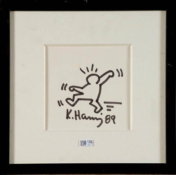 Keith Haring-Keith Haring - Personnage-1989