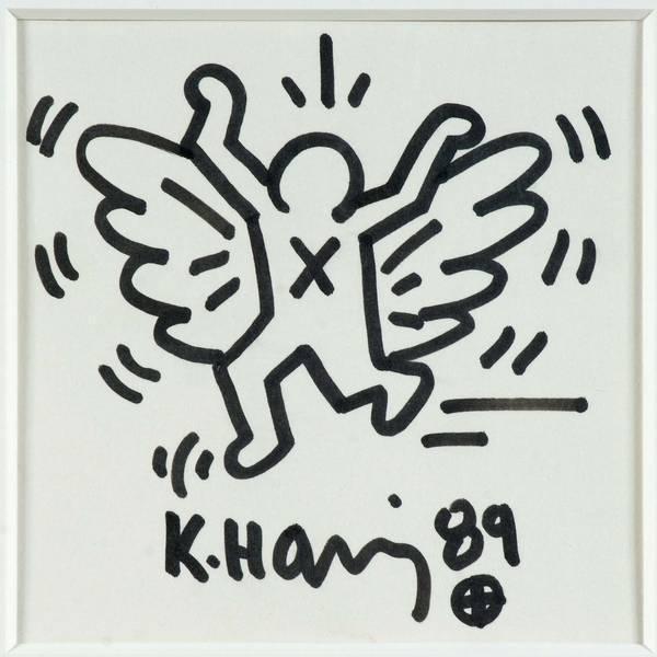 Keith Haring-Keith Haring - Angel-1989
