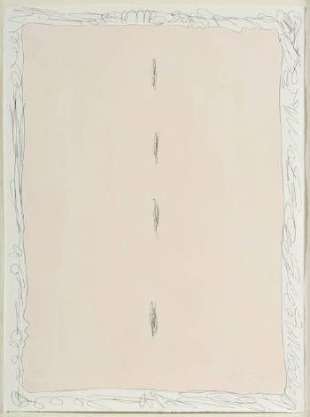 Lucio Fontana-Composition spatiale-