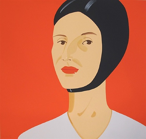 Alex Katz-Ada in Bathing Cap-2012