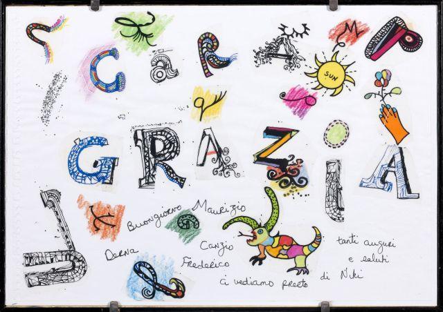 Niki de Saint Phalle-Cara Grazia, (Dragon et Soleil)-