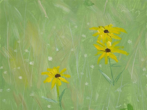 Alex Katz-Black Eyed Susans-2003