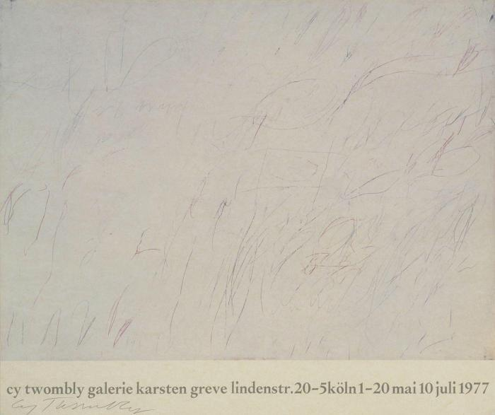 Cy Twombly-Ausstellungen-1981