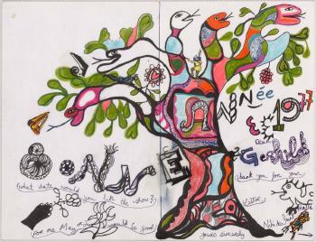 Niki de Saint Phalle-Bonne Annee 1977-1977
