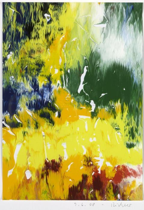 Gerhard Richter-Ohne Titel (9.6.08) / Untitled (9.6.08)-2008