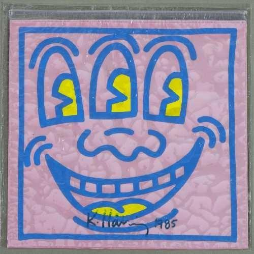 Keith Haring-Keith Haring - Ohne Titel-1985