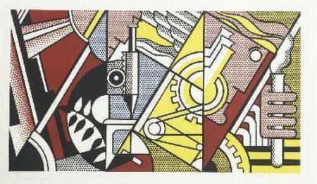 Roy Lichtenstein-Peace Through Chemistry I-1970
