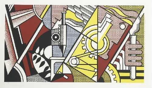 Roy Lichtenstein-Peace Through Chemistry I-1970