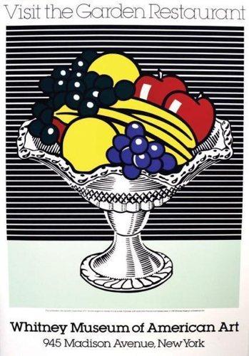 Roy Lichtenstein-Visit the Garden Restaurant-