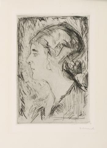 Edvard Munch-Hjordis Gierloff-1914