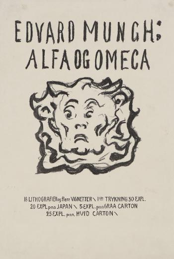 Edvard Munch-Tittelblad-1909