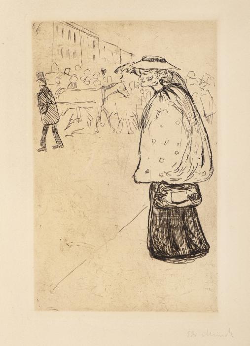 Edvard Munch-Matrosbruden-1902