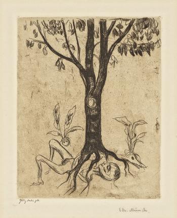 Edvard Munch-Liv og dod / Life and Death (Metabolism) (Woll 194 b)-1902