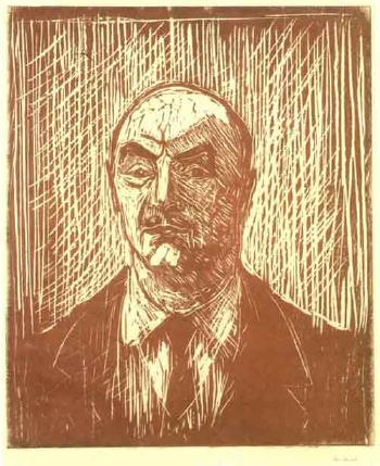 Edvard Munch-Ingenior Frolich (Engineer Frolich)-1931