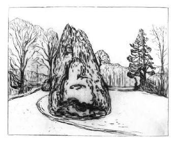 Edvard Munch-Hagen / The Garden-1902