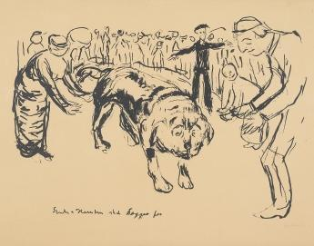 Edvard Munch-Angry Dogs Should be Petted-
