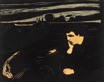 Edvard Munch-Melancholy III-1902