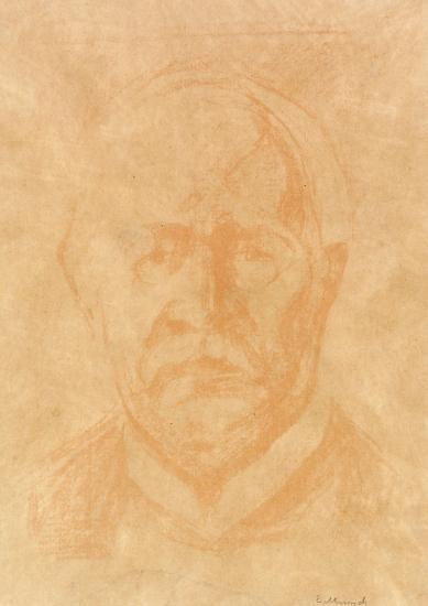 Edvard Munch-Statdminister Otto Blehr / Prime Minister Otto Blehr-1927