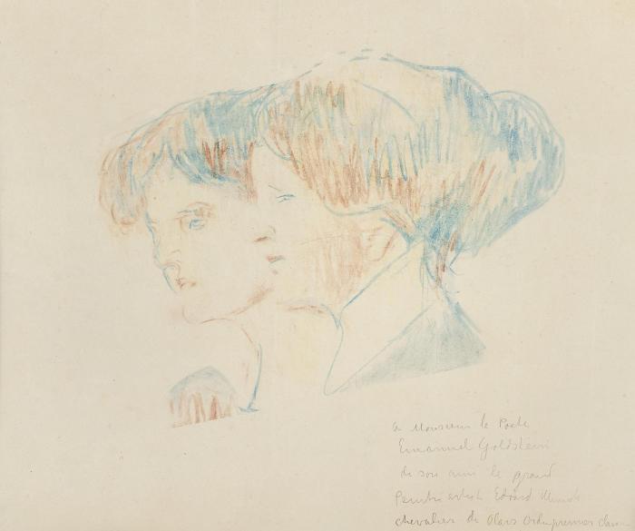 Edvard Munch-The Meissner Sisters-