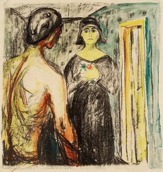 Edvard Munch-Marat og Charlotte Corday-1930