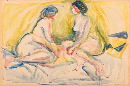 Edvard Munch-To kvinneakter / Two Nudes-