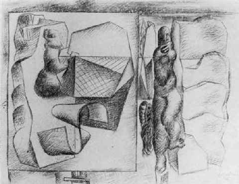 Le Corbusier-Composition cadence harmonique-1930