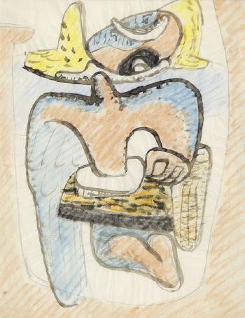 Le Corbusier-Etude pour une sculpture-