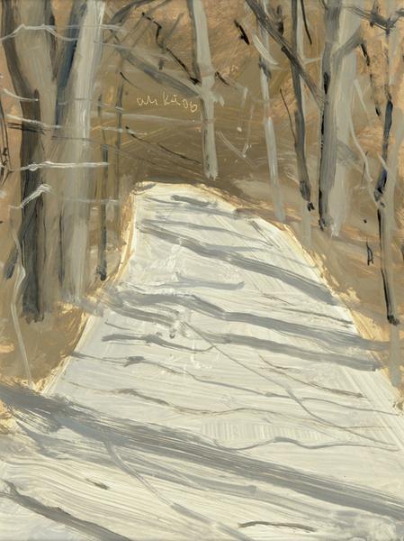 Alex Katz-The Path-2006