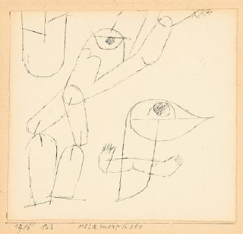 Paul Klee-Metamorphose-1915